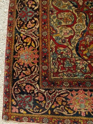 19th century - Kork Wool carpet - Teheran - Iran Late 19th