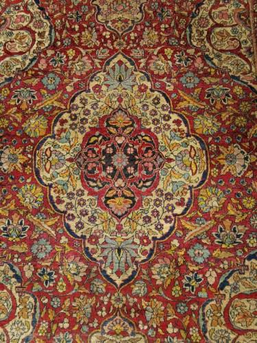 Antiquités - Kork Wool carpet - Teheran - Iran Late 19th