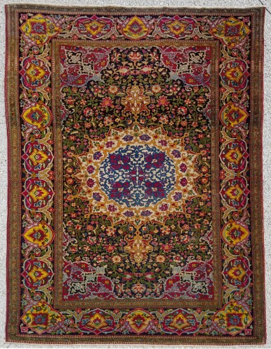Teheran Wool Kork carpet Extra Fine Quality - Iran Circa 1880 19th