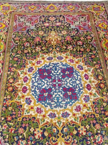 Tapestry & Carpet  - Teheran Wool Kork carpet - Iran Circa 1880 19th