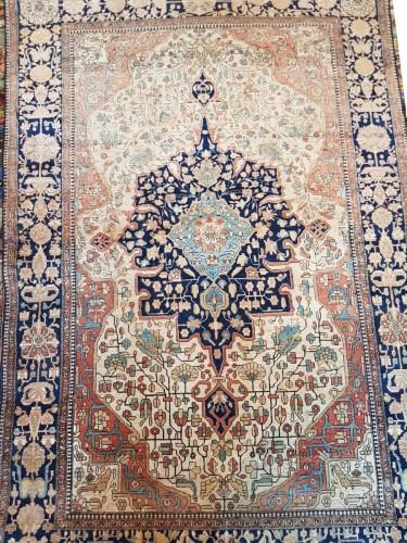 Tapestry & Carpet  - Kachan Mortachem Kork Wool carpet - Iran 19th Century