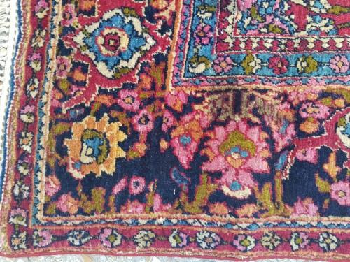 Teheran Wool Carpet Late 19th Century Iran - Tapestry & Carpet Style