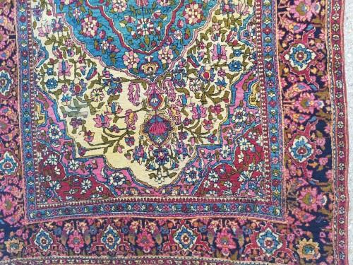 19th century - Teheran Wool Carpet Late 19th Century Iran