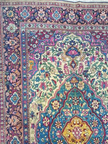 - Teheran Wool Carpet Late 19th Century Iran