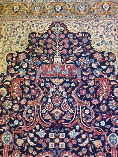 Kachan Mortachem carpet - Kork Wool Late 19th Century - Tapestry & Carpet Style