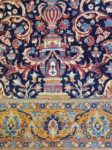 Tapestry & Carpet  - Kachan Mortachem carpet - Kork Wool Late 19th Century