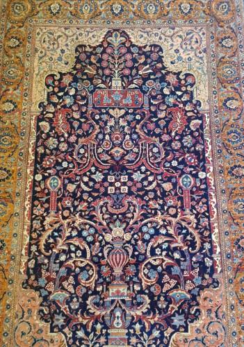 Kachan Mortachem carpet - Kork Wool Late 19th Century -