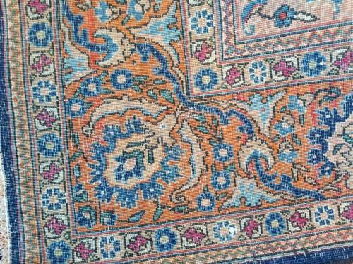 19th century - Kachan Mortachem carpet - Kork Wool Late 19th Century