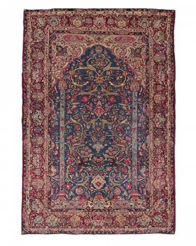 Carpet - Tehran (iran) Around 1880 Era Of Shah - 19th century