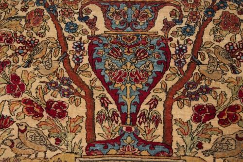 Tapestry & Carpet  - Isfahan Wool Kork carpet (iran) 19th century