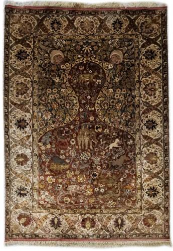 Kum Kapu Silk carpet Atelier Tossounian - Turkeyflag