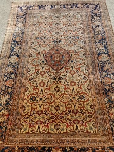 Heriz Silk carpet - North West Of Persia - Circa 1850 - Tapestry & Carpet Style