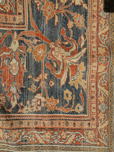 19th century - Heriz Silk carpet - North West Of Persia - Circa 1850