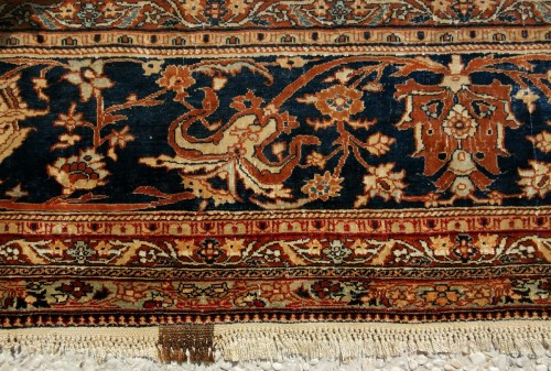 - Heriz Silk carpet - North West Of Persia - Circa 1850