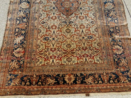 Antiquités - Heriz Silk carpet - North West Of Persia - Circa 1850