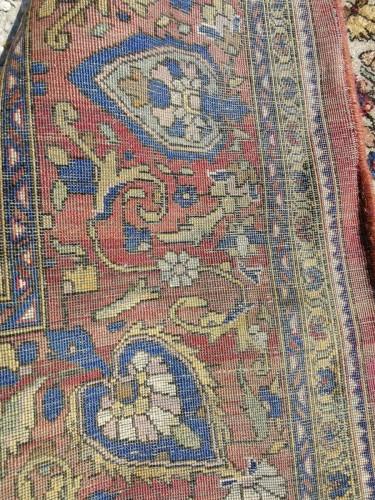 Rare  Kirman Silk carpet - Iran - Tapestry & Carpet Style