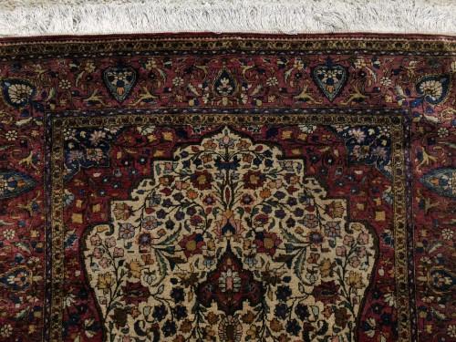 19th century - Rare  Kirman Silk carpet - Iran