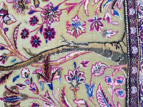 19th century - Fine Kachan Soof In Silk carpet - Persia Late 19th Century