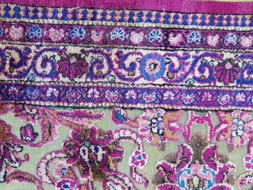 Fine Kachan Soof In Silk carpet - Persia Late 19th Century -