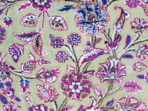 - Fine Kachan Soof In Silk carpet - Persia Late 19th Century