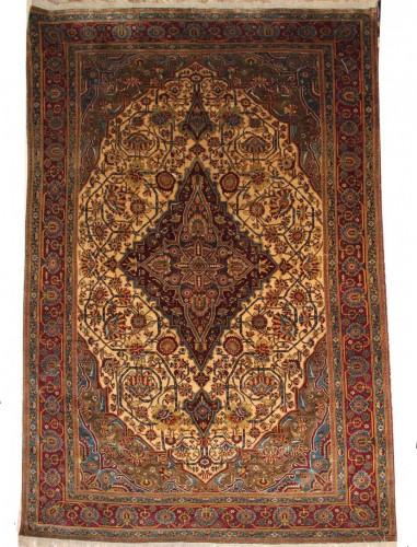Carpet Ferahan Silk Around 1880 - Iran