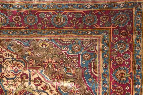 Carpet Ferahan Silk Around 1880 - Iran - Tapestry & Carpet Style