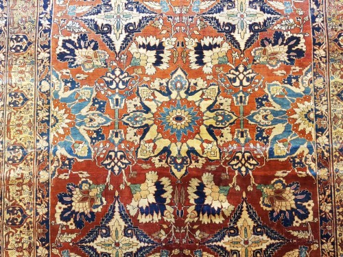 - Carpet Tabriz Djaffer (persian) circa 1870