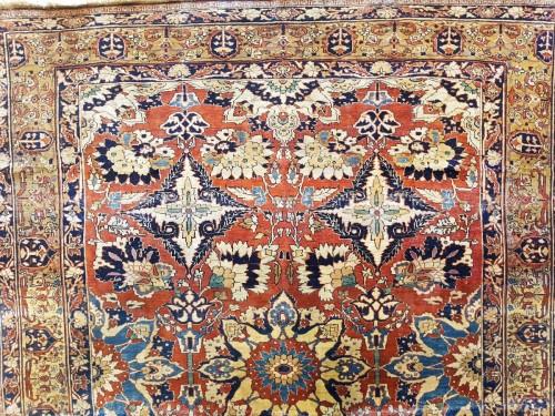 Antiquités - Carpet Tabriz Djaffer (persian) circa 1870