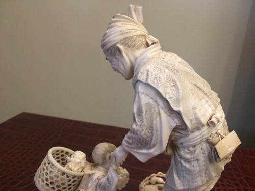 - Large Group In Ivory, Japan Meiji
