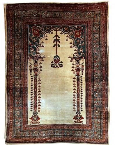 Heriz Soie Rug - Iran 19th