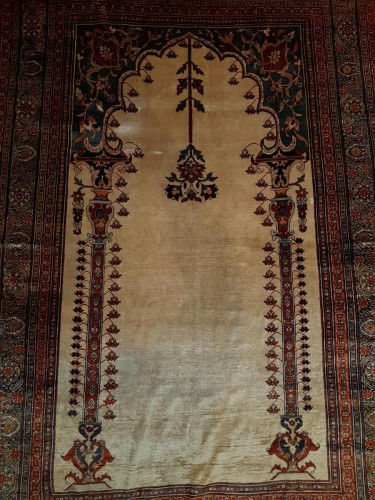 Heriz Soie Rug - Iran 19th - Tapestry & Carpet Style