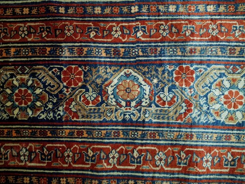 Tapestry & Carpet  - Heriz Soie Rug - Iran 19th
