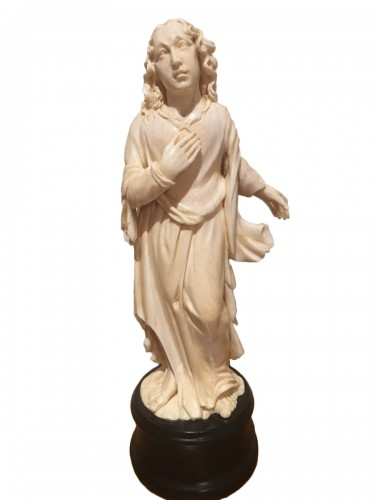 Saint John The Evengelist Ivory Dieppe Late 19th