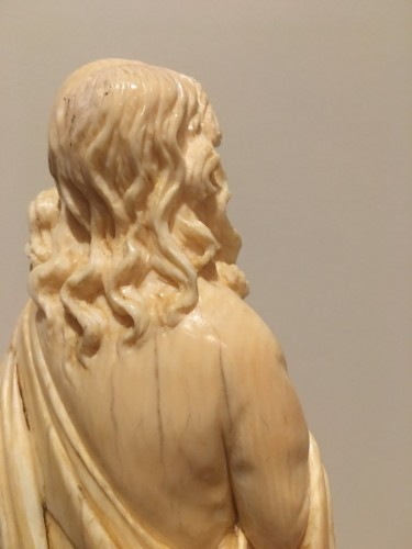 19th century - Saint John The Evengelist Ivory Dieppe Late 19th