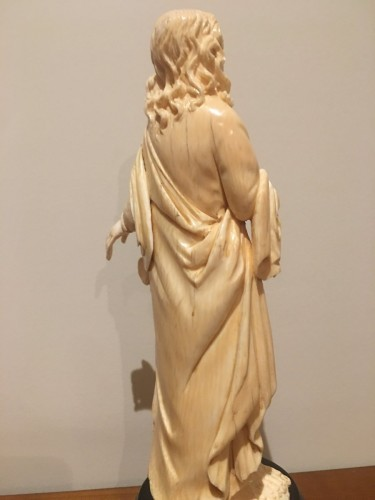 - Saint John The Evengelist Ivory Dieppe Late 19th
