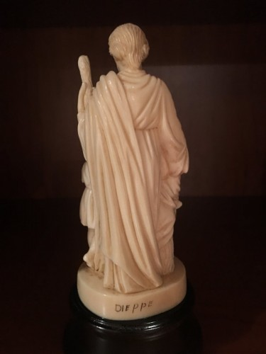Religious Antiques  - The Holy Family in ivory - Dieppe late 19th