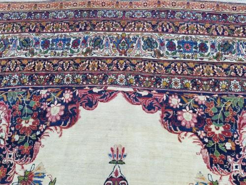 Kirman Laver Carêt - Persia Around 1870 - Tapestry & Carpet Style