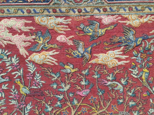 Tapestry & Carpet  - Kum Kapu Soof Embossed Signed Rug - Asia Minor Turkey 1890