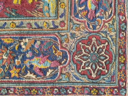 19th century - Kum Kapu Soof Embossed Signed Rug - Asia Minor Turkey 1890