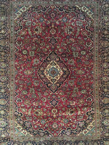 Kachan All Silk Carpet, late 19th century