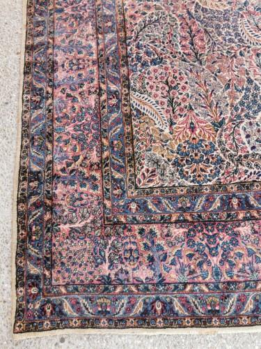 - Kirman Wool Kork Wool - Iran Late 19th Century Shah Period