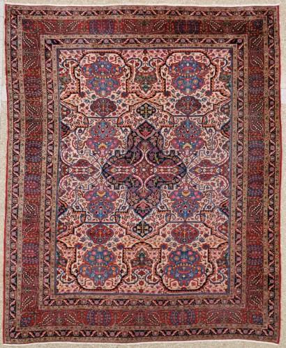 Large Kachan Manchester Carpet Kork Wool - Iran Circa 1880