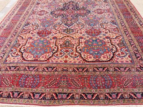 Large Kachan Manchester Carpet Kork Wool - Iran Circa 1880 - Tapestry & Carpet Style