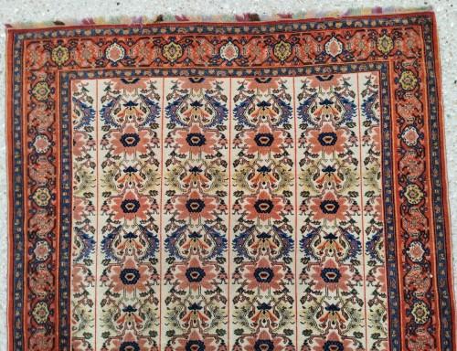 Fine Senneh Rug In Kork Wool Iran End Of 19th - Tapestry & Carpet Style
