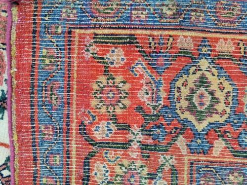 Tapestry & Carpet  - Fine Senneh Rug In Kork Wool Iran End Of 19th