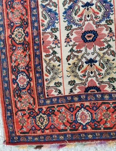 19th century - Fine Senneh Rug In Kork Wool Iran End Of 19th