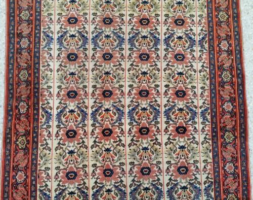 - Fine Senneh Rug In Kork Wool Iran End Of 19th