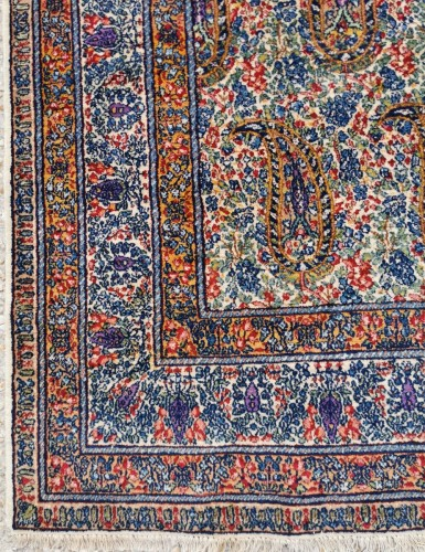 Kirman In Kork Wool 19th Century Iran - Tapestry & Carpet Style