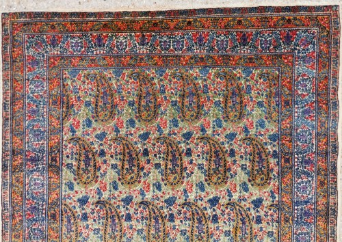 Kirman In Kork Wool 19th Century Iran -