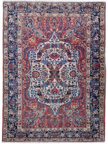 Isfahan Silky Kork Wool, Iran late 19th century